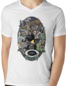 The Men in Back Movie style poster Mens V-Neck T-Shirt