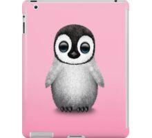 Cute Baby Penguin on Pink iPad Case/Skin