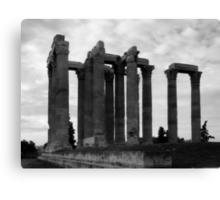 Temple of Olympia Zeus Canvas Print
