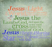 Jesus, Light of the World by vigor