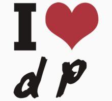 I Heart DP (Daft Punk) by SoManyRobots