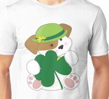 Cute Puppy St Pats Unisex T-Shirt