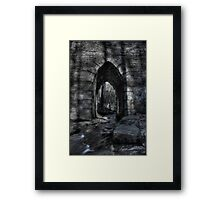 Into the Bullet Framed Print