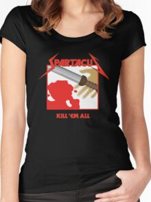 Spartacus - Kill'em All Women's Fitted Scoop T-Shirt