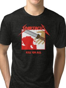 Spartacus - Kill'em All Tri-blend T-Shirt