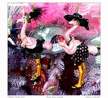 Flamigo Party Girls  by Sandra Russell