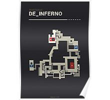 Counter-Strike de_inferno  Poster