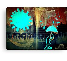 It's like a dark cloud hanging over me Canvas Print
