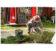 The Garden Artisan Poster