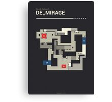 Counter-Strike de_mirage Canvas Print