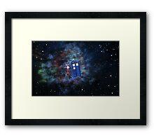 Star-y Space  Framed Print