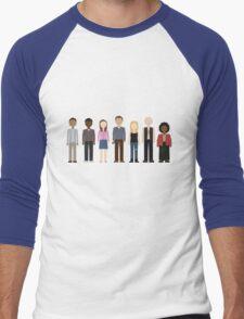 Community Cast Men's Baseball ¾ T-Shirt