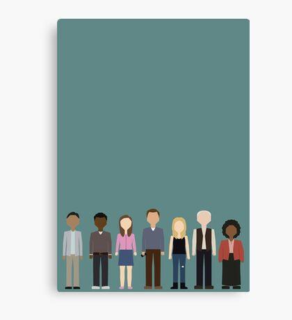 Community Cast Canvas Print