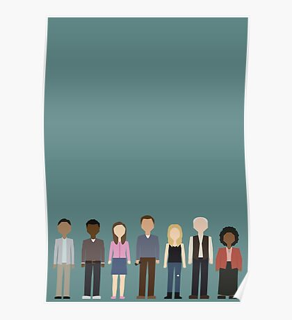 Community Cast Poster