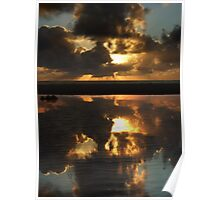 Sunrise, Ocean, River Poster