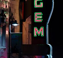Gem Theatre, Kansas City, MO by kenelamb