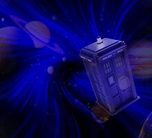 Time & Space by drwhobubble