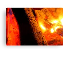 Super Blaze Canvas Print