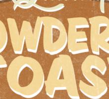 Quality Powdered Toast Sticker