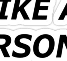 problem Sticker