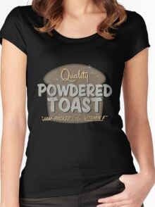 Quality Powdered Toast II Women's Fitted Scoop T-Shirt