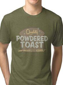Quality Powdered Toast II Tri-blend T-Shirt