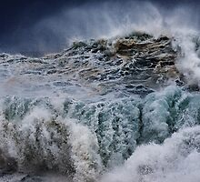 Winter Waves At Pipeline 16 by Alex Preiss