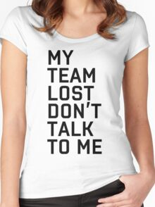 Team Lost Women's Fitted Scoop T-Shirt
