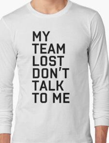 Team Lost Long Sleeve T-Shirt