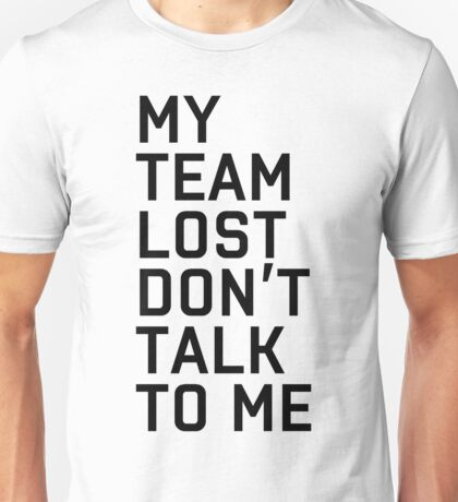 Team Lost Unisex T-Shirt