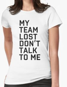 Team Lost Womens Fitted T-Shirt