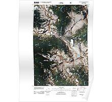 USGS Topo Map Washington State WA Suiattle Pass 20110427 TM Poster