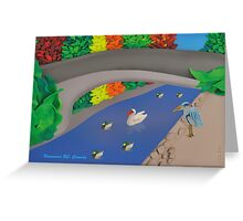 Autumn at Stanley Park, Vancouver BC, Canada  Greeting Card