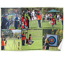 National Archery championship  Canberra Poster