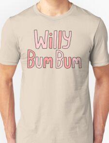 """Willy Bum Bum - """"Logo"""" T-Shirt"""