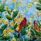 cardinal pair  by KAT Griffin
