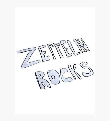 Zeppelin Rocks Photographic Print