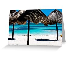 Secluded Blue Greeting Card