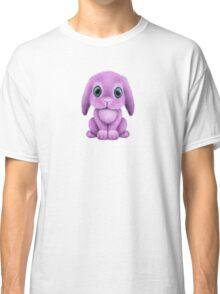 Cute Purple Baby Bunny Rabbit  Classic T-Shirt