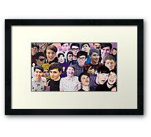 Phan collage #2 Framed Print