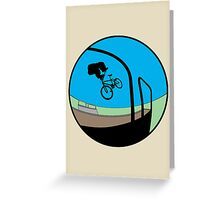 Tail Spin Greeting Card