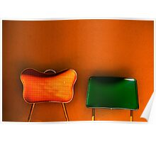 tijuana (two chairs) Poster