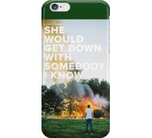 Sam Hunt - Break Up In A Small Town iPhone Case/Skin