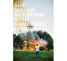 Sam Hunt - Break Up In A Small Town Photographic Print