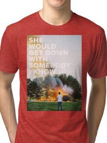 Sam Hunt - Break Up In A Small Town Tri-blend T-Shirt