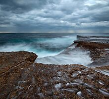 Sea Shells and Pockets - North Curl Curl, NSW by Malcolm Katon