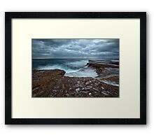 Sea Shells and Pockets - North Curl Curl, NSW Framed Print