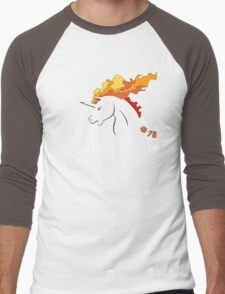 Pokemon 78 Rapidash Men's Baseball ¾ T-Shirt