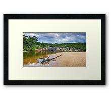 Wattamolla Lagoon Framed Print
