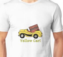 Yellow Car! (with piano bonus) Unisex T-Shirt